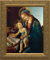 Madonna and Child by Botticelli Framed Art