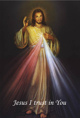 Divine Mercy Indoor Outdoor Aluminum Print