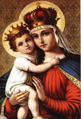 Our Lady of Good Remedy Indoor Outdoor Aluminum Print