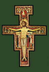 San Damiano Crucifix Indoor Outdoor Aluminum Print