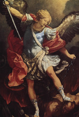 St. Michael the Archangel Indoor Outdoor Aluminum Print