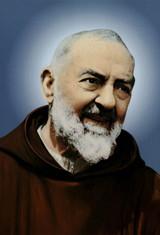 St. Padre Pio Indoor Outdoor Aluminum Print