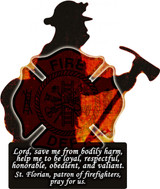Firefighter Visor Clip