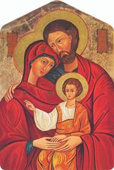 Holy Family Icon Visor Clip