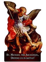 St. Michael the Archangel Cutout Magnet