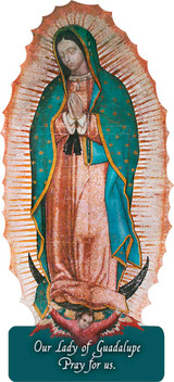 Our Lady of Guadalupe Cutout Magnet