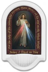 Divine Mercy Prayer Holy Water Font