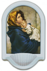 Madonna of the Streets Holy Water Font