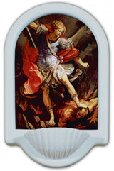 St. Michael the Archangel Holy Water Font