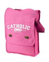 Catholic Original Canvas Messenger Bag