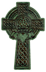 Celtic Claddagh Cross