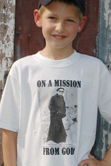 Pope on a Mission Children's T-Shirt