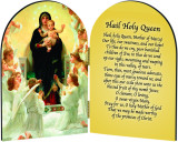Queen of the Angels Arched Diptych