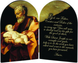 St. Joseph Arched Diptych
