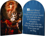 Resurrection Arched Diptych
