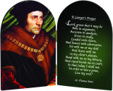 St. Thomas More A Lawyers Prayer Arched Diptych