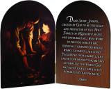 St. Joseph Carpenter's Prayer Arched Diptych