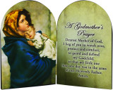 Madonna of the Streets  A Godmother's Prayer Arched Diptych