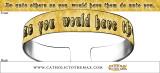 Golden Rule Bracelet