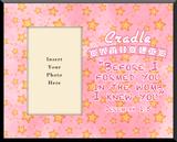 Cradle Catholic Pink Photo Frame