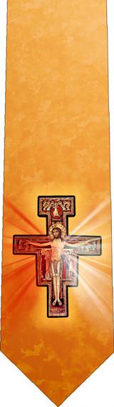 San Damiano/Divine Mercy Tie