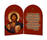 Christ The Teacher Icon Arched Diptych