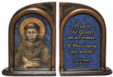 St. Francis by Cimabue Bookends
