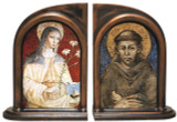Sts. Francis and Clare Bookends