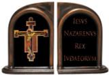 Byzantine Crucifix Bookends