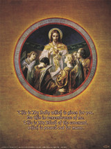 Christ, Bread of Angels Poster