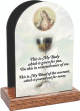Chalice with Sacred Heart Table Organizer (Vertical)