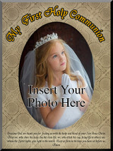 My First Communion (IHI Pattern) Photo Frame