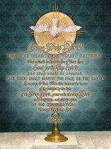 Eucharist with Holy Spirit Poster