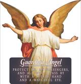 Guardian Angel Cutout Magnets