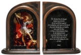 St. Michael the Archangel Bookends
