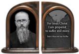 St. Maximilian Kolbe Bookends