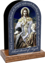 Christ, Bread of Angels Prayer Table Organizer (Vertical)