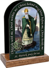 St. Patrick Prayer Table Organizer (Vertical)