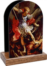 St. Michael the Archangel Table Organizer (Vertical)