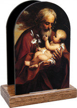 St. Joseph Older Table Organizer (Vertical)