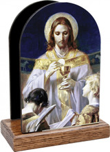 Christ, Bread of Angels Table Organizer (Vertical)