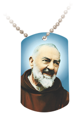 Padre Pio Dog Tag