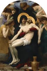La Pieta Arched Magnet