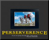 """""""Perserverence"""" Picture Frame"""
