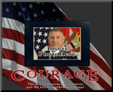 """Courage"" Picture Frame"