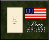 Pray for Our US Military Photo Frame