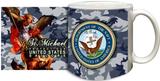 St Michael Navy Mug