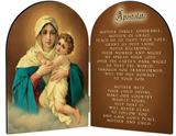Schoenstatt Madonna (Apostolate Prayer) Arched Diptych