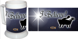 """I Believe"" Beer Stein"