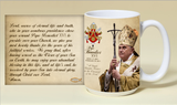 Pope Benedict XVI Commemorative 15 oz Mug
